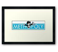 Tshirt Methopoly - Tshirt Heisenberg - Tshirt Blue Meth Framed Print