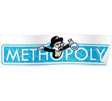 Tshirt Methopoly - Tshirt Heisenberg - Tshirt Blue Meth Poster