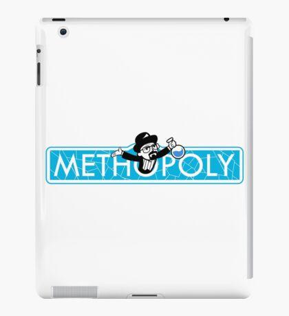Tshirt Methopoly - Tshirt Heisenberg - Tshirt Blue Meth iPad Case/Skin