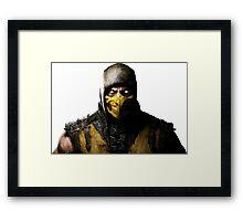 Mortal Kombat X- Scorpion  Framed Print