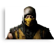 Mortal Kombat X- Scorpion  Canvas Print