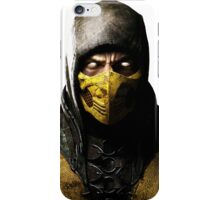 Mortal Kombat X- Scorpion  iPhone Case/Skin