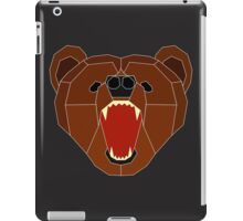 Growling Burr - White Lines iPad Case/Skin