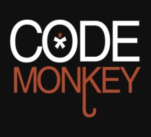 Code Monkey - T - Shirts & Hoodies by anjaneyaarts