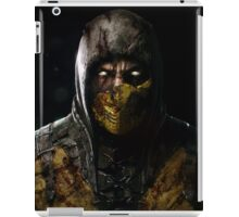 Scorpion Damaged Mortal Kombat X iPad Case/Skin