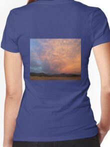 Sun Glow Women's Fitted V-Neck T-Shirt