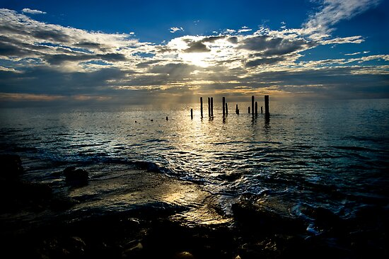 Port Willunga South Australia by Melinda Kerr