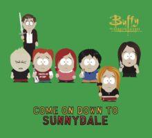 Buffy the Vampire Slayer as South Park Kids Tee