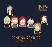 Buffy the Vampire Slayer as South Park Kids Tee