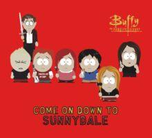 Buffy the Vampire Slayer as South Park Baby Tee
