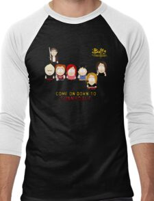 Buffy the Vampire Slayer as South Park Men's Baseball ¾ T-Shirt