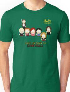 Buffy the Vampire Slayer as South Park Unisex T-Shirt
