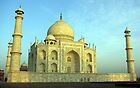 Taj Mahal, Agra (India). by John Mitchell