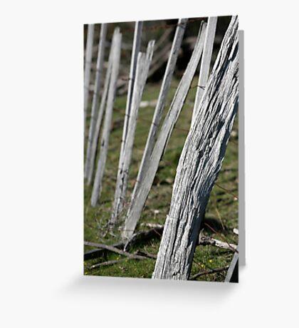 weathered Greeting Card