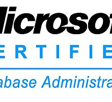 Microsoft Certified Database Administrator by crimson8