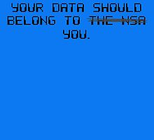 Your Data Belongs to You by tinaodarby