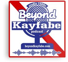 Beyond Kayfabe Podcast - Pabst Metal Print