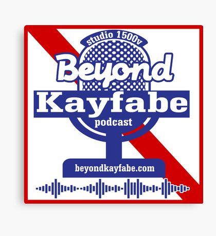 Beyond Kayfabe Podcast - Pabst Canvas Print