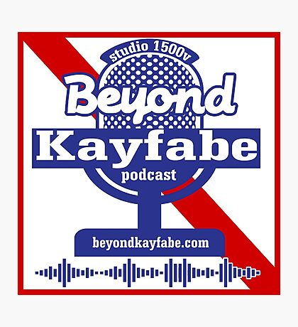 Beyond Kayfabe Podcast - Pabst Photographic Print