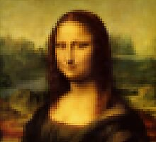 Pixel Mona Lisa by Fix-it-Fran