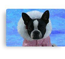 Snow Princess Canvas Print