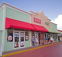 Shops in Antigua by Keith Larby