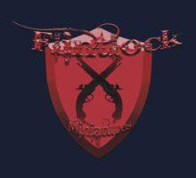 Flintlock miniatures logo Kids Clothes