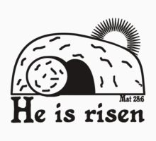HE IS RISEN Kids Clothes