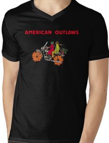 American Outlaws (Harold and Maude) Mens V-Neck T-Shirt