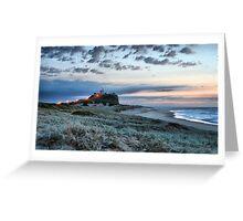 Nobbys Headland at Dawn Greeting Card