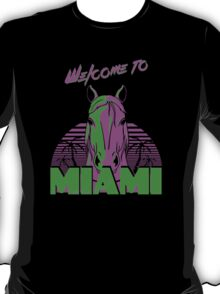 Welcome To Miami - T - Shirts & Hoodies   T-Shirt