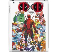 Deadpool and Unicorn Marvels iPad Case/Skin