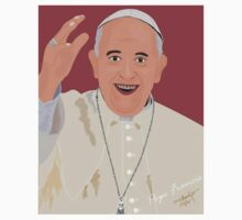 Pope Francis One Piece - Short Sleeve