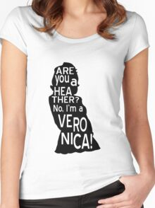 Are you a Heather? No, I'm a Veronica. Women's Fitted Scoop T-Shirt