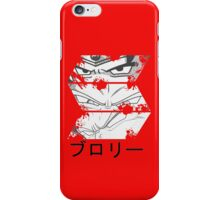 Broly eyes iPhone Case/Skin