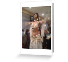 Greek Night Dance II Greeting Card