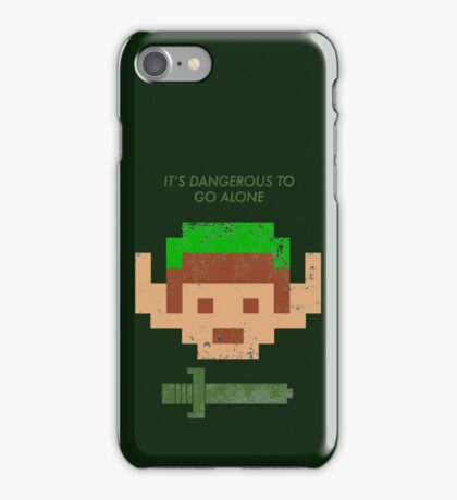 Dangerous to go alone. iPhone Case/Skin