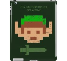 Dangerous to go alone. iPad Case/Skin