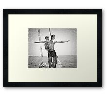 Gay King of the World  Framed Print