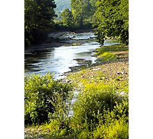 White River Spring Photographic Print