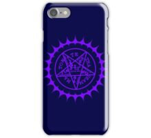 Black Butler Ciel's pentacle iPhone Case/Skin