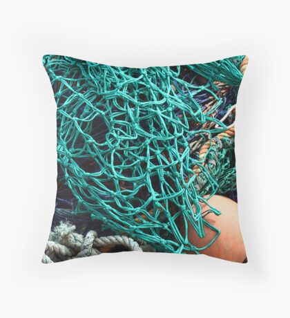 Fish Net  Throw Pillow