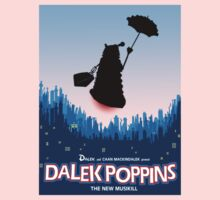 Dalek Poppins  One Piece - Short Sleeve