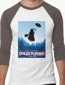 Dalek Poppins  Men's Baseball ¾ T-Shirt