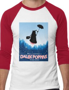 Dalek Poppins  Men's Baseball ¾ T-Shirt