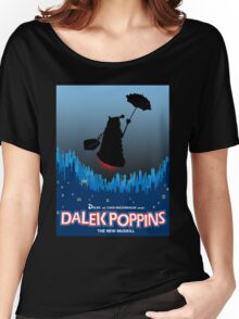 Dalek Poppins  Women's Relaxed Fit T-Shirt