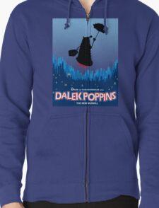 Dalek Poppins  Zipped Hoodie