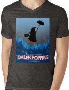 Dalek Poppins  Mens V-Neck T-Shirt