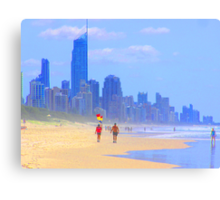 View to Surfers Paradise Canvas Print