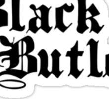 Black Butler logo Sticker
